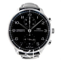 IWC Portugieser Chronograph Black/Black