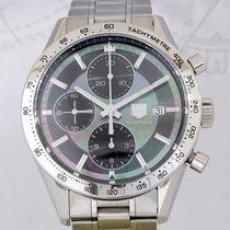 TAG Heuer Carrera Date Chronograph Calibre 16 Steel Black MOP...