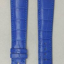 Parmigiani Fleurier leather strap blue  20.5 / 16.5