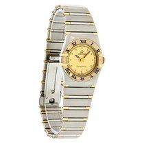 Omega Constellation Champagne Dial Ladies Swiss Quartz Watch...