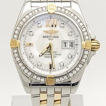 Breitling Windrider Cockpit B49350 Stainless Steel & Solid...
