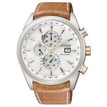 Citizen Elegant Eco Drive Funk Herrenchronograph AT8017-08A