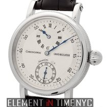 Chronoswiss Grand Regulateur Stainless Steel 44mm Silver Dial...