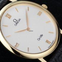Omega De Ville Prestige Gold 18 Kt. Herrenuhr NOS
