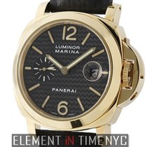 Panerai Luminor Collection Luminor Marina 18k YG Carbon Fiber...