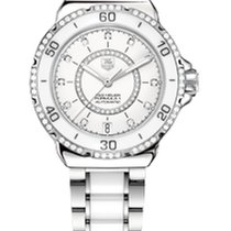 TAG Heuer FORMULA 1 LADY STEEL AND CERAMIC DIAMONDS AUTOMATIC...