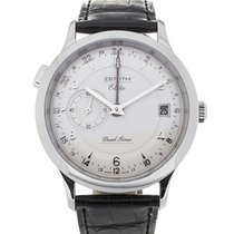 Zenith Class Elite Dual Time 39 Automatic Leather