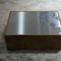 Zenith vintage watch box metal top newoldstock