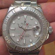 勞力士 (Rolex) Yachtmaster Steel Platinum Bezel 40mm Ref. 16622 2005