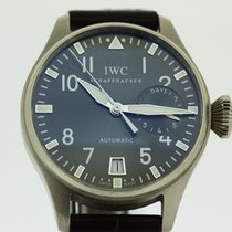 IWC Big Pilot 7 Day Power reserve 18 k white gold