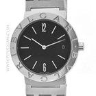 Bulgari stainless steel mid-size wristwatch