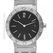 Bulgari stainless steel mid-size wristwatch