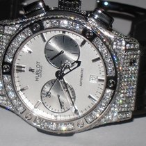 Hublot Classic Fusion Chronograph Steel Automatic Diamonds