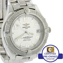 Breitling Colt Ocean A17350 Steel 38mm Automatic Steel Silver...