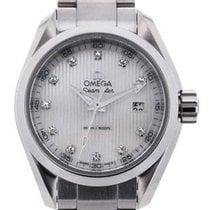 Omega Seamaster Aqua Terra Quartz 30 White Mother of Pearl