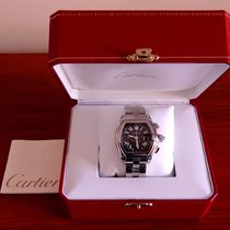 Cartier Roadster Chronograph  XL Stainless Steel Automatic...
