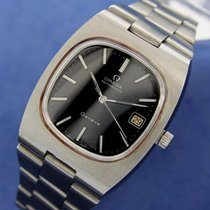 Omega Swiss Made Large 36mm Geneve Automatic Stainless Steel...