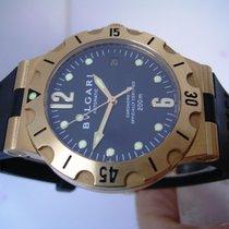 Bulgari Diagono Scuba Diver 200 m Massive gold 18 Kt Automatic