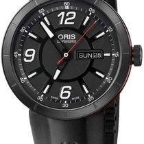 Oris TT1 Williams Automatic Steel Rubber Mens Watch DOW &...