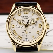Patek Philippe 5035J-001 Annual Calendar Cream Dial 18K Yellow...