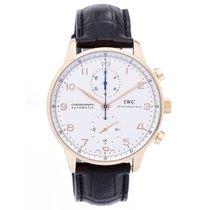 IWC Portuguese Chronograph Rose Gold Men's Watch