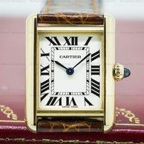 Cartier Tank Louis Quartz 18K Yellow Gold (25762)