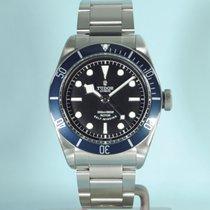 Tudor Heritage Black Bay Lünette blau blue Stahl -NEU-
