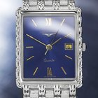 Longines Flagship 18K White Gold-Plated Dress Watch