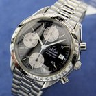 Omega Speedmaster Chronograph Automatic Stainless Steel Watch...