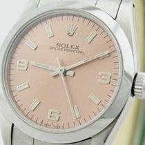 Rolex Oyster Perpetual Damen 31 mm Ref. 67480 von 1993 mit Box