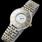 Cartier Must De 21C Ladies Watch- Stainless Steel & 18K Gold