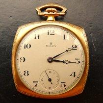 Rolex Art Deco Rosegold 9K 375 Antike Hochfeine Taschenuhr um...