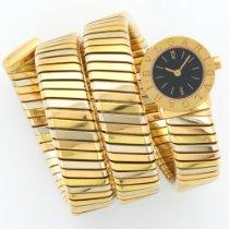 Bulgari Tri-Color Serpenti Tubogas Bracelet Watch