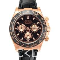 勞力士 (Rolex) Daytona Black/Leather 40mm - 116515LN
