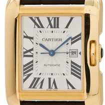 Cartier Anglaise 18k Yellow Gold Automatic ref #3509 circa 2015