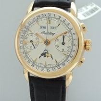 Breitling Montbrillant Chronograph 1939 Vintage Triple Date...