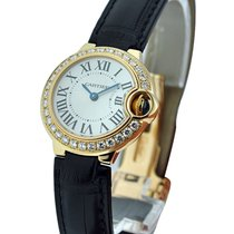 Cartier Ballon Bleu with Diamond Bezel Small Size