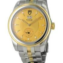 Tudor GLAMOUR STEEL/GOLD WITH DIAMONDS