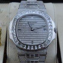 Patek Philippe 5719/10G-010  Nautilus Wg  Full Diamonds ...
