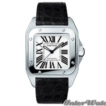 Cartier Santos 100 Automatic No Date Mid-Size watch W20106X8