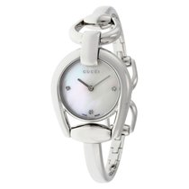 Gucci Horsebit Collection Mother of Pearl Dial Ladies Watch...