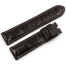 Panerai Original Leder Armband 24mm Dornschließe NEU Strap Buckle